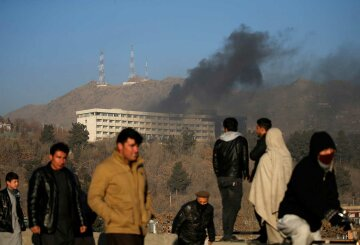 Кабул-теракт-отель