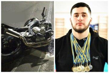 Украинский спортсмен разбился в ДТП, его мотоцикл разлетелся на части: первые детали аварии