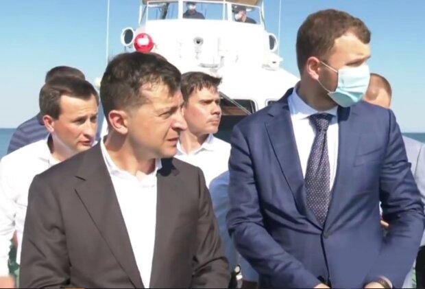 """Зеленский наплевал на карантинные ограничения в Одессе, скандальное видео: """"С самого утра..."""""""