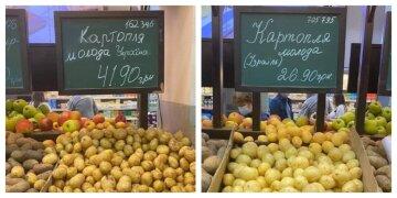 """""""Неужели это выгоднее?"""": украинцам продают свою картошку в два раза дороже импортной, фото"""