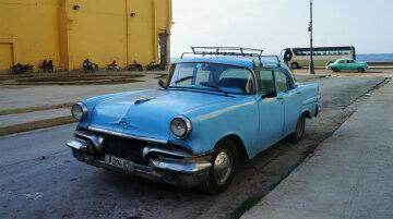 Рай для автолюбителів: кращі машини на дорогах Куби (фото)