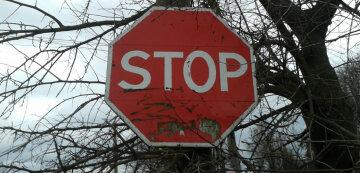 стоп знак остановка запрет