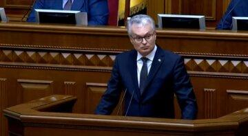 Президент Литвы с трибуны Рады попросил Украину прекратить покупку электроэнергии с Белорусской АЭС