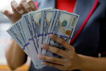 курс валют в украине, доллар деньги