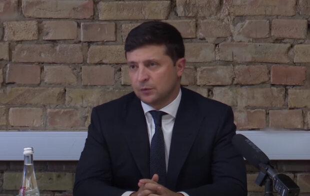 Володимир Зеленський, скрін