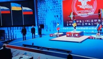 Украинская чемпионка подняла сине-желтый флаг над Москвой, став лучше россиянок: кадры триумфа