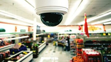 ограбление камера магазин