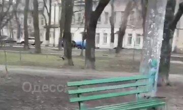 """Трагедия с мужчиной в центре Одессы, тело лежало под лавкой: """"скорая и полиция не спешат"""""""