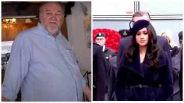 """Батько Меган Маркл дав свідчення проти дочки, пристрасті не вщухають: """"Стався серцевий напад..."""""""