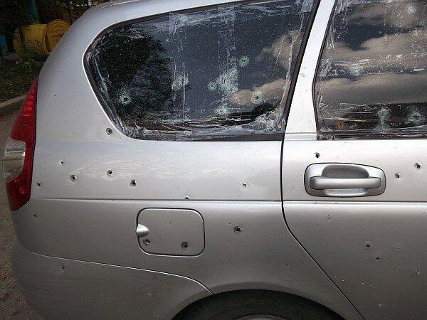 Обстрел в Киеве