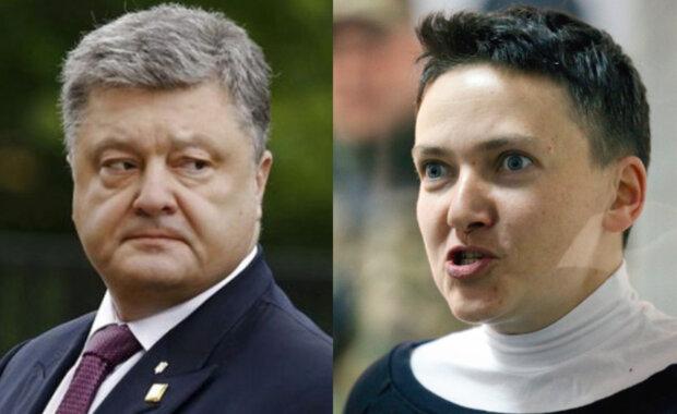 """""""Це чмо треба садити"""": скандальна Савченко пригрозила Порошенку в'язницею"""