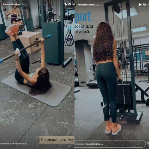 """Победительница """"Холостяка"""" Анна Богдан показала в спортзале на полу, как надо худеть: фото"""