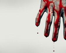 Кровь-рука-убийство