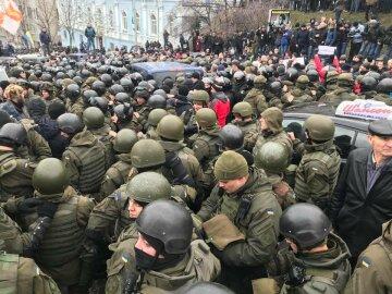 протест митинг силовики