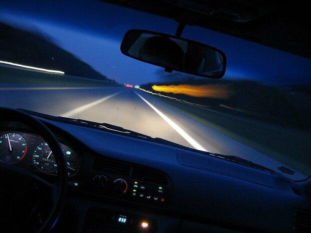 дорога машина скорость