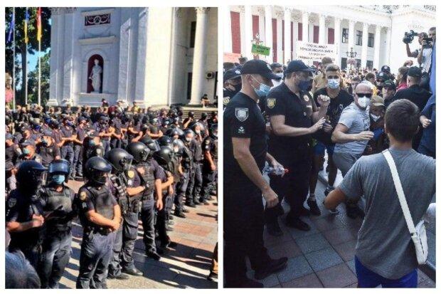 Марш рівності в Одесі поставив на ноги поліцію і Нацгвардію, є постраждалі: кадри замісу