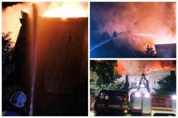 Вогонь охопив багатоповерхівку, було чутно вибухи: перші деталі і відео НП в Запоріжжі