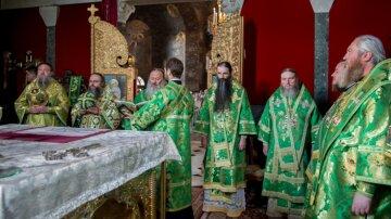 """Верующие УПЦ почтили память преподобного Агапита: """"Он утешает нас и исцеляет наши недуги"""""""