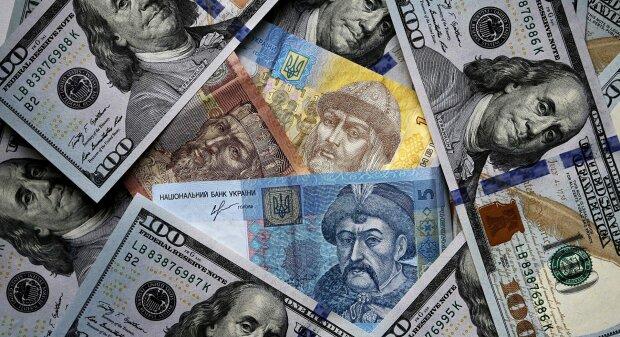курс валют в украине, гривна, доллар
