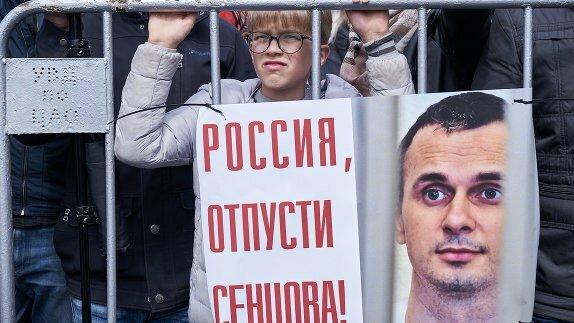 Киев и Хельсинки объединились для мощной акции поддержки Сенцова, яркие фото