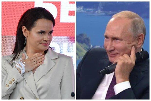 """""""Мы давно друзья и соседи"""": Тихановская заявила, что готова попросить денег у Путина"""