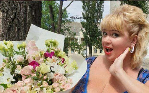 """Украинка с 13-м размером груди показала из кустов бесстыжее декольте: """"Надо раздеваться..."""""""