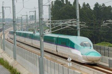 скоростной поезд япония