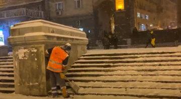 сніг, погода, комунальники