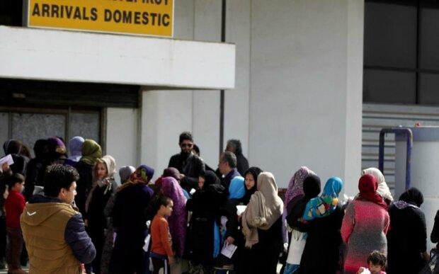 мигранты беженцы Греция