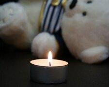 умер ребенок свеча