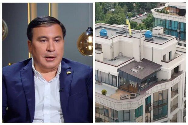 """""""С выходом на крышу"""": появилось видео аппартаментов Михо Саакашвили в Одессе"""
