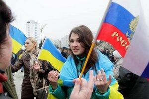 россияне, украинцы