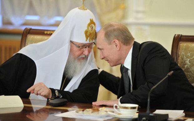 """Путін втрапив у конфуз перед патріархом Кирилом, з'явилося відео: """"спасибі за службу, агент Гундяєв"""""""