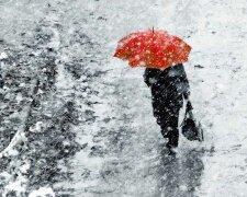 снег, погода