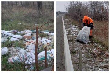"""""""Не кидайте себе под ноги"""": трассы Одесчины завалили мусором, кадры безобразия"""