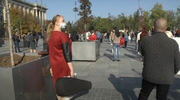 українці в масках, осінь, зарплата, виплати, скрін