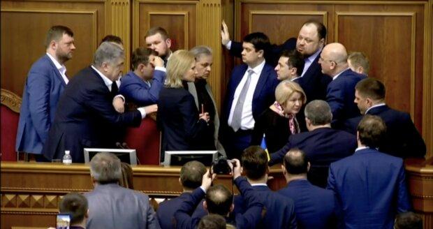Верховна рада, порошенко, зеленський, геращенко, разумков, стефанчук