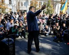 Михаил Саакашвили, митинг