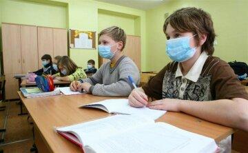 школа, дети, маски