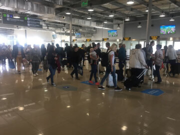аэропорт, люди