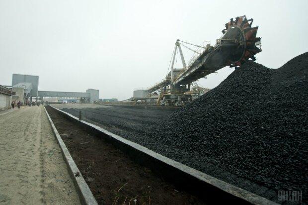 Уголь склад