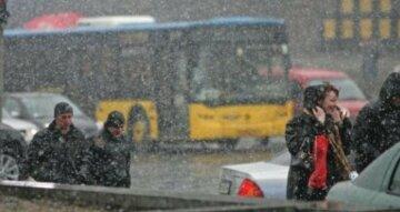 погода, дождь, снег, весна