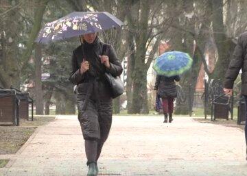 весна, осень, пасмурно, дождь