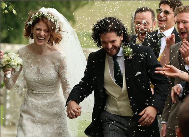 Игра престолов, Кит Харингтон и Роуз Лесли, свадьба