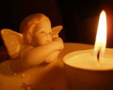 свеча, траур