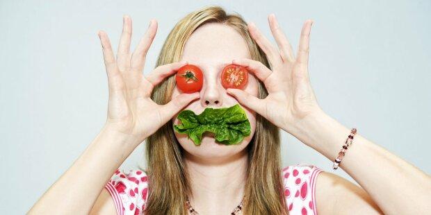 вегетаринцы, овощи