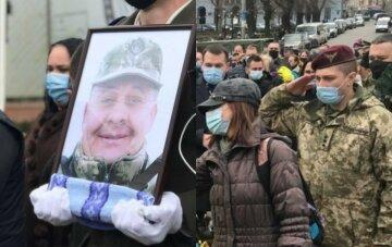 Втратив на фронті брата: сотні українців у сльозах попрощалися з полеглим на Донбасі Героєм