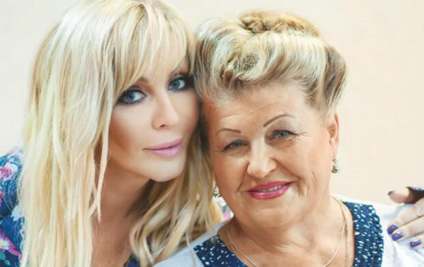 Ирина Билык с матерью