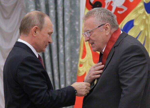 Владимир Жириновский и Владимир Путин