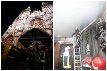 Пожежа в костелі Святого Миколая: як виглядає будівля після НП, фото і відео наслідків